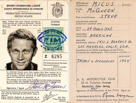 McQueen's Int'l License